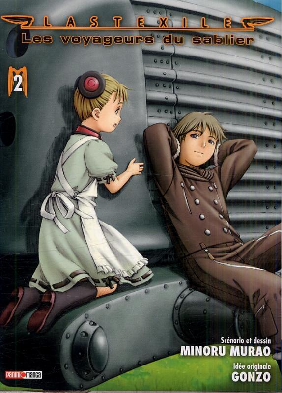 Last exile - Les voyageurs du sablier T2, manga chez Panini Comics de Murao, Gonzo