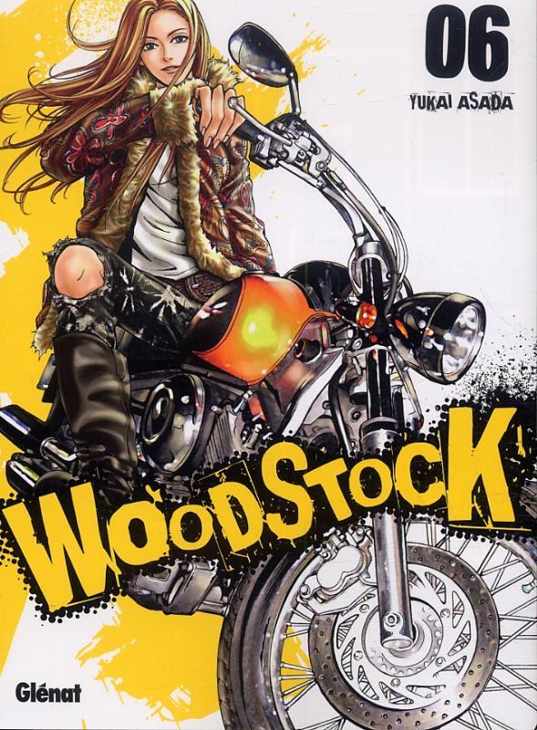 Woodstock T6, manga chez Glénat de Asada