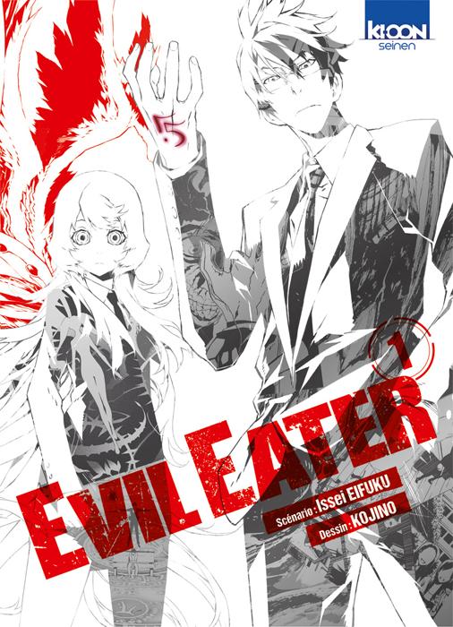 Evil Eater T1, manga chez Ki-oon de Eifuku, Kojino