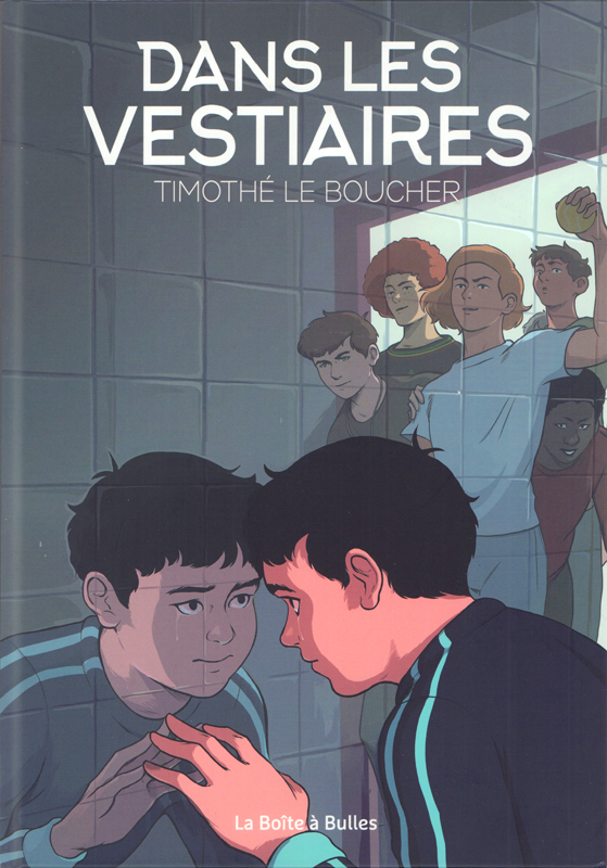 Les Vestiaires, bd chez La boîte à bulles de le Boucher