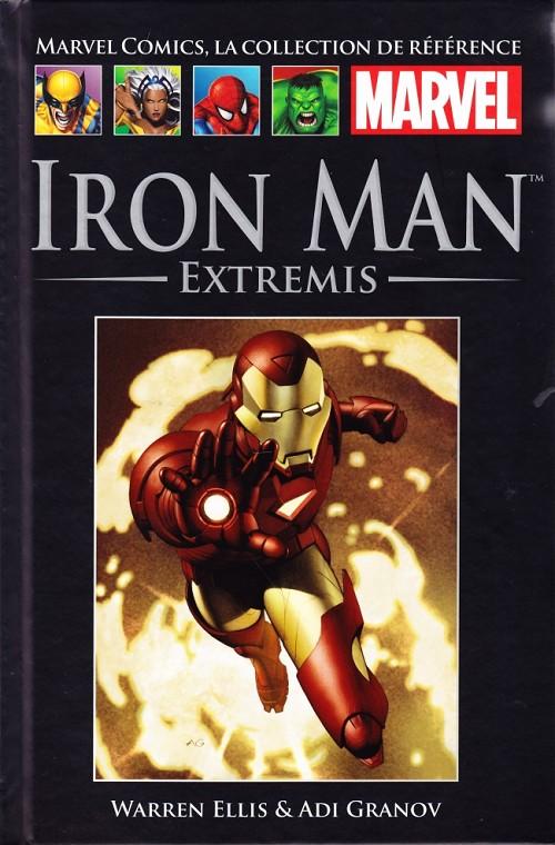 Marvel Comics, la collection de référence T40 : Iron Man - Extremis (0), comics chez Hachette de Ellis, Granov