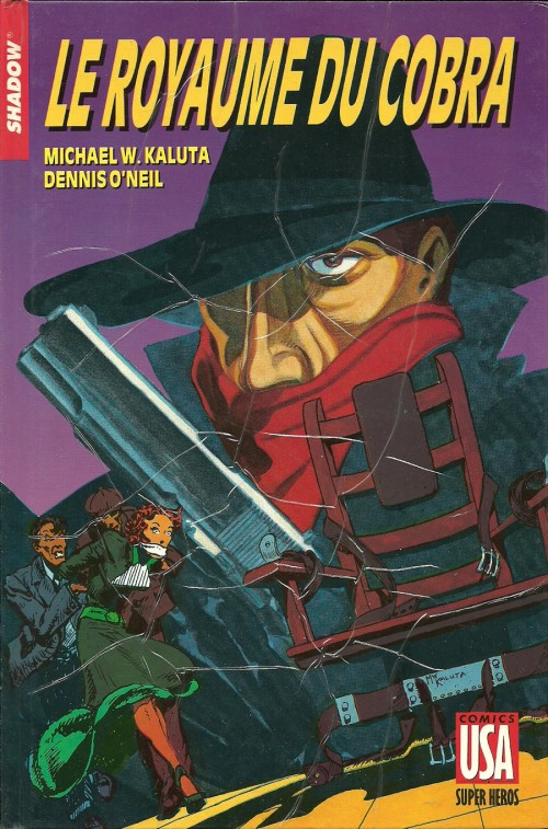 The Shadow T24 : Le royaume du Cobra (0), comics chez Glénat de Kaluta, Wrightson, Kindzierski
