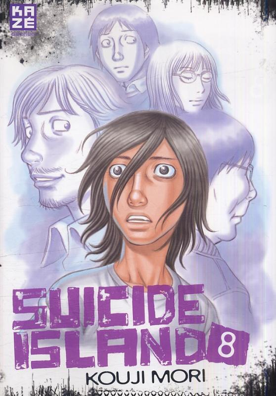 Suicide island T8, manga chez Kazé manga de Mori