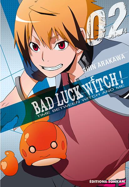 Bad luck witch T2, manga chez Tonkam de Arakawa