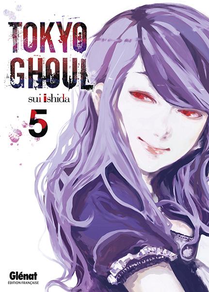 Tokyo ghoul T5, manga chez Glénat de Ishida