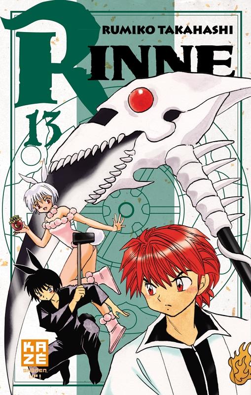 Rinne T13, manga chez Kazé manga de Takahashi