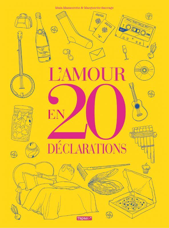 L'Amour en 20 déclarations, bd chez Delcourt de Mazaurette, Sauvage