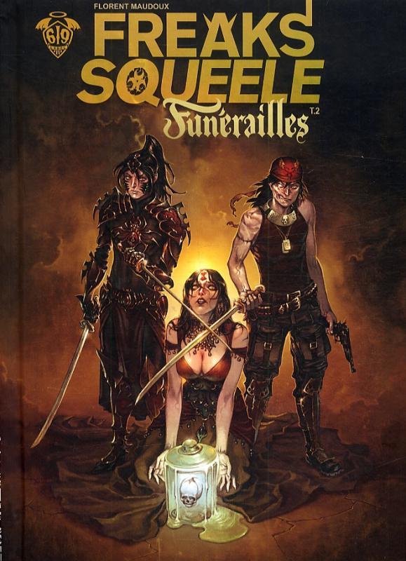 Freaks' Squeele – Funérailles, T2 : Pain in black (0), bd chez Ankama de Maudoux