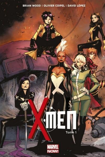 X-Men T1 : Elémentaire (0), comics chez Panini Comics de Wood, Coipel, Lopez, Milla, Peter, Martin, Strain