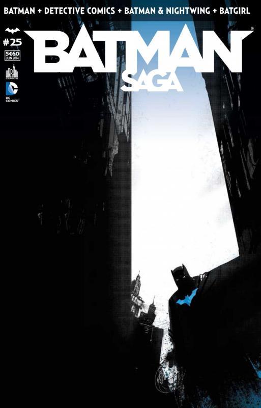 Batman Saga T25, comics chez Urban Comics de Tomasi, Tynion IV, Layman, Snyder, Simone, Bennett, Glapion, Gray, Irwin, Florea, Purcell, Albuquerque, Fabok, Geraci, Miki, Clarke, Marc, Pasarin, Craig, Yeung, Gleason, Capullo, Kalisz, Blond, McCaig, Hannin, FCO Plascencia, Jock