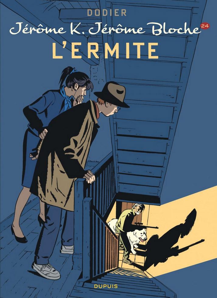 Jérôme K. Jérôme Bloche T24 : L'ermite (0), bd chez Dupuis de Dodier, Cerise