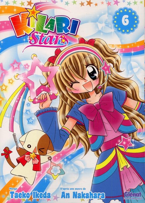 Kilari star T6, manga chez Glénat de Nakahara, Ikeda