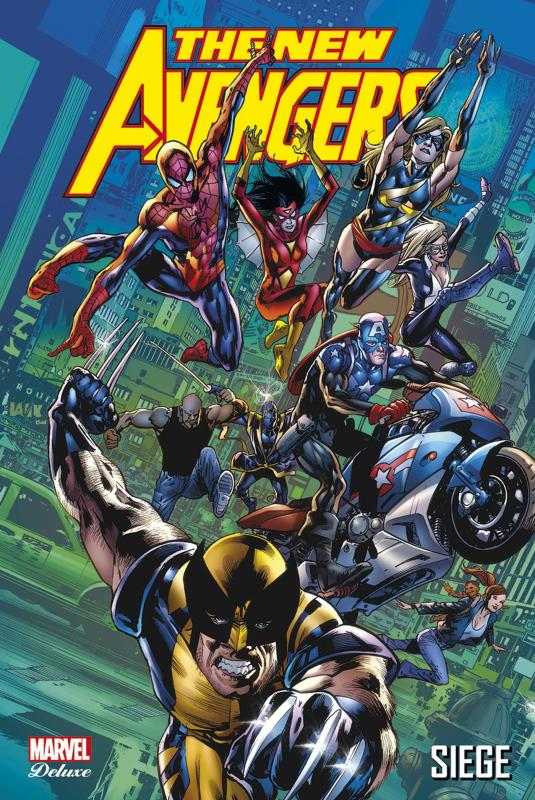 The New Avengers (vol.1) T7 : Siege (0), comics chez Panini Comics de Bendis, Tan, Finch, Mayhew, Immonen, McNiven, Hitch, Mckone, Coipel, Deodato Jr, Acuña, Yu, Mounts, Ponsor, Beredo, Stewart, McCaig, Hollowell, d' Armata, Martin, Troy