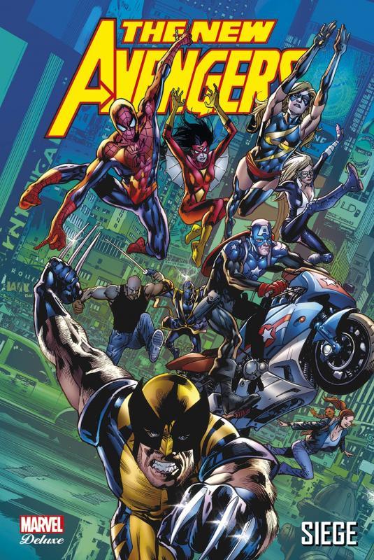 The New Avengers (vol.1) T7 : Siege (0), comics chez Panini Comics de Bendis, Tan, Finch, Mayhew, Immonen, McNiven, Hitch, Mckone, Coipel, Deodato Jr, Acuña, Yu, Mounts, Ponsor, Beredo, Stewart, McCaig, Hollowell, d' Armata, Martin, Troy
