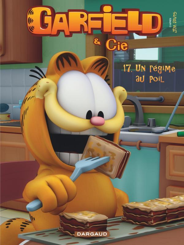 Garfield & Cie T17 : Un régime au poil (0), comics chez Dargaud de Davis