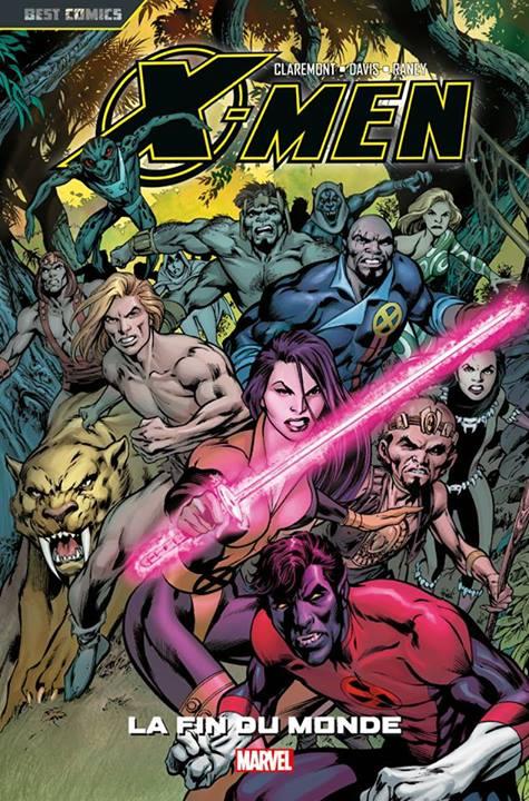 X-Men - Best comics T5 : La fin du monde (0), comics chez Panini Comics de Claremont, Davis, Raney, White, Gong, Milla