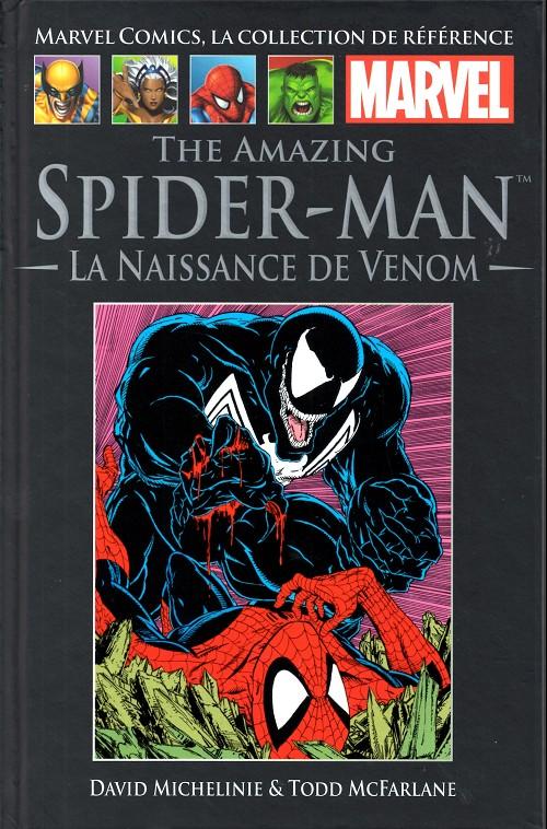 Marvel Comics, la collection de référence T11 : The Amazing Spider-Man - La naissance de Venom (0), comics chez Hachette de DeFalco, Michelinie, Simonson, Stern, McFarlane, LaRocque, Frenz, Wein, Scheele, Roussos, Sharen