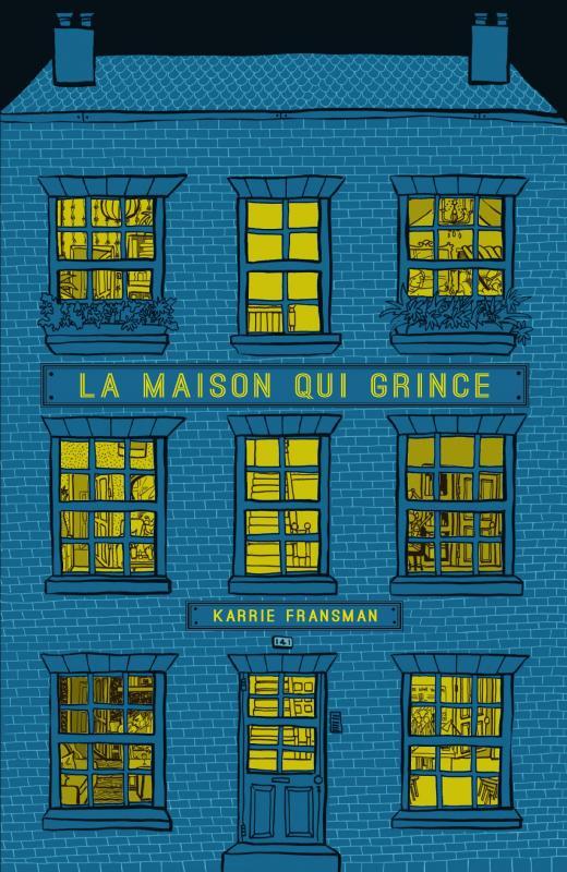 La Maison qui grince, bd chez Presque Lune de Fransman