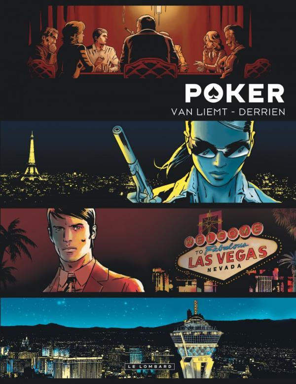 Poker, bd chez Le Lombard de Derrien, Van Liemt, Denoulet