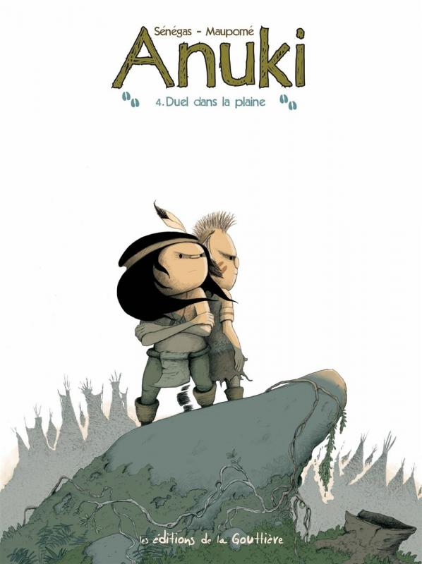 Anuki T4 : Duel dans la plaine (0), bd chez Editions de la Gouttière de Maupomé, Sénégas