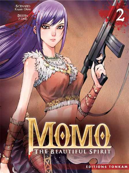 Momo - the beautiful spirit T2, manga chez Tonkam de Okina, Z-One