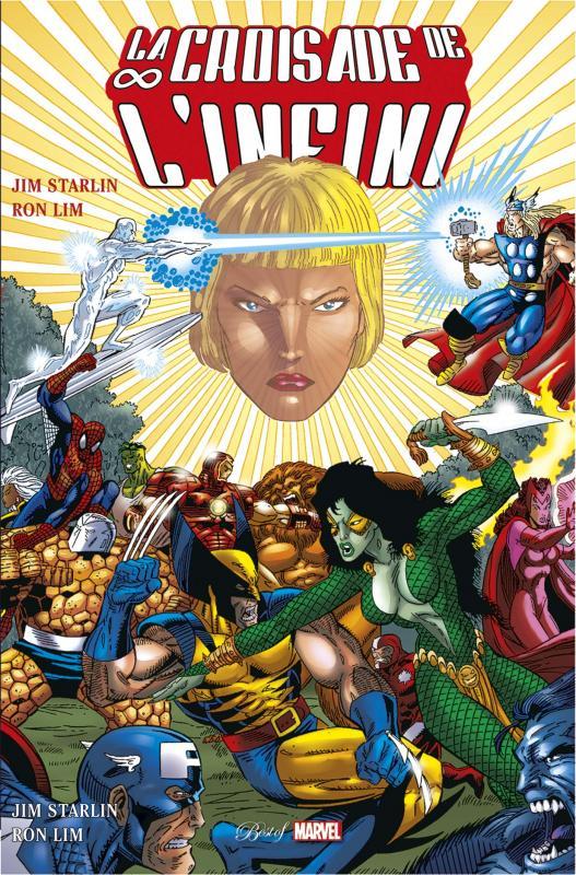 La Croisade de l'Infini, comics chez Panini Comics de Starlin, Lim, Vincent, Laughlin