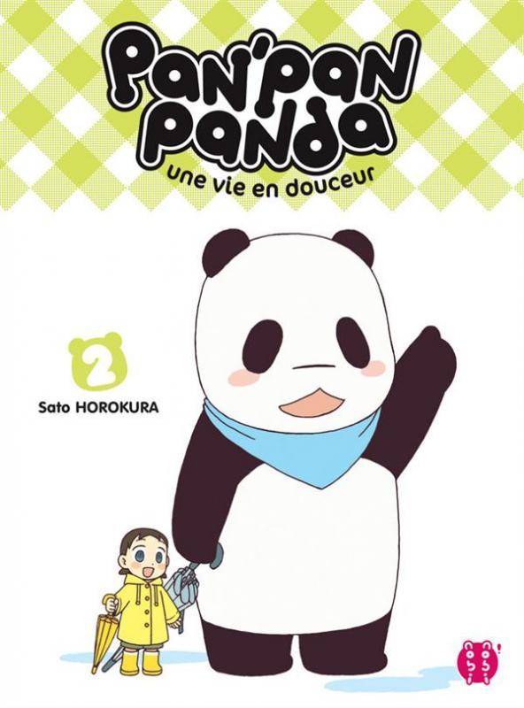 Pan' pan panda T2, manga chez Nobi Nobi! de Horokura