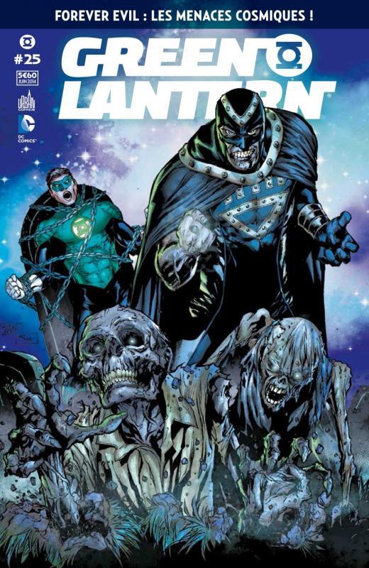 Green Lantern Saga T25, comics chez Urban Comics de Kindt, Starlin, Robinson, Venditti, Soule, Eaglesham, Cafu, Ponticelli, Morales, Porter, Vozzo, Hi-fi colour, Smith, Dalhouse, Pantazis, Landini