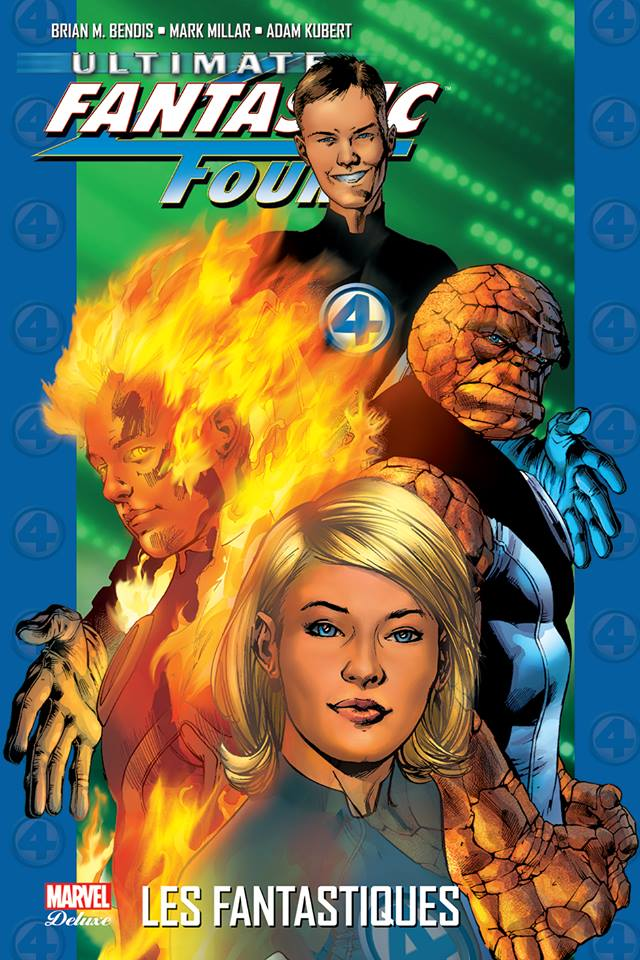 Ultimate Fantastic Four T1 : Les Fantastiques (0), comics chez Panini Comics de Bendis, Millar, Kubert, Stewart