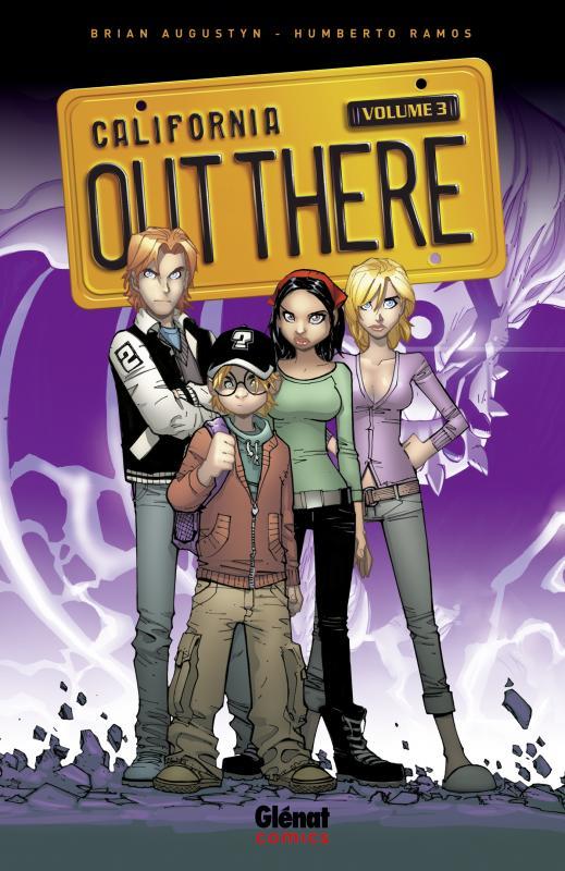 Out There T3, comics chez Glénat de Augustyn, Ramos, Delgado, Studio F