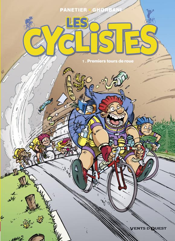 Les Cyclistes T1 : Premiers tours de roues (0), bd chez Vents d'Ouest de Panetier, Ghorbani, Astier