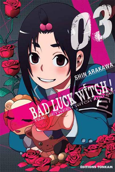 Bad luck witch T3, manga chez Tonkam de Arakawa