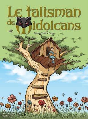 Le Talisman des Midolcans T1 : Geneviève Tomate (0), bd chez Vagabondages de Djian, Corbet
