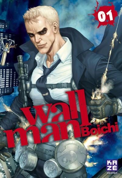Wallman T1, manga chez Kazé manga de Boichi
