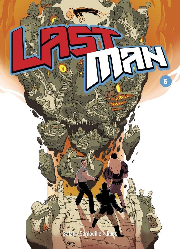 Lastman T6, manga chez Casterman de Sanlaville, Vivès, Balak