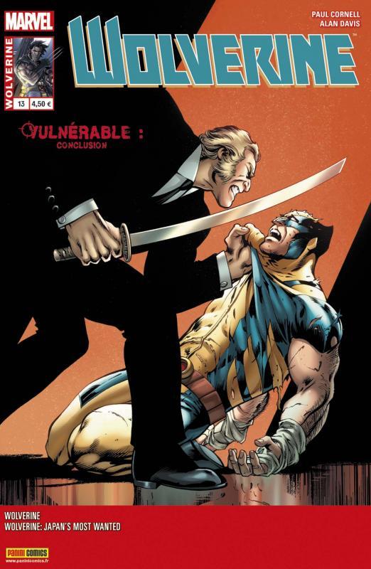 Wolverine (revue) – Revue V 4, T13 : L'homme le plus recherché du Japon (0), comics chez Panini Comics de Aaron, Cornell, Latour, Hanna, Davis, Farmer, Diaz, Hollingsworth, Gracia, Silva