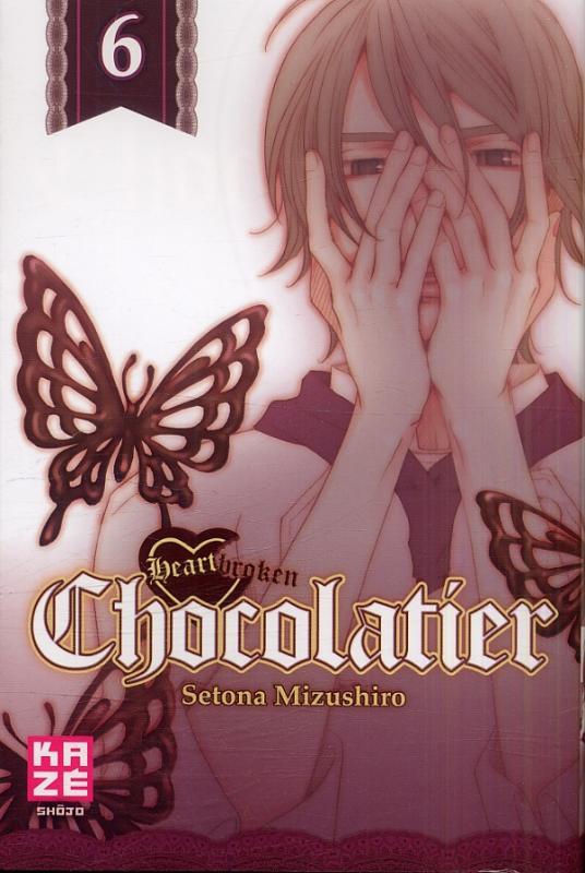 Heartbroken chocolatier T6, manga chez Kazé manga de Mizushiro