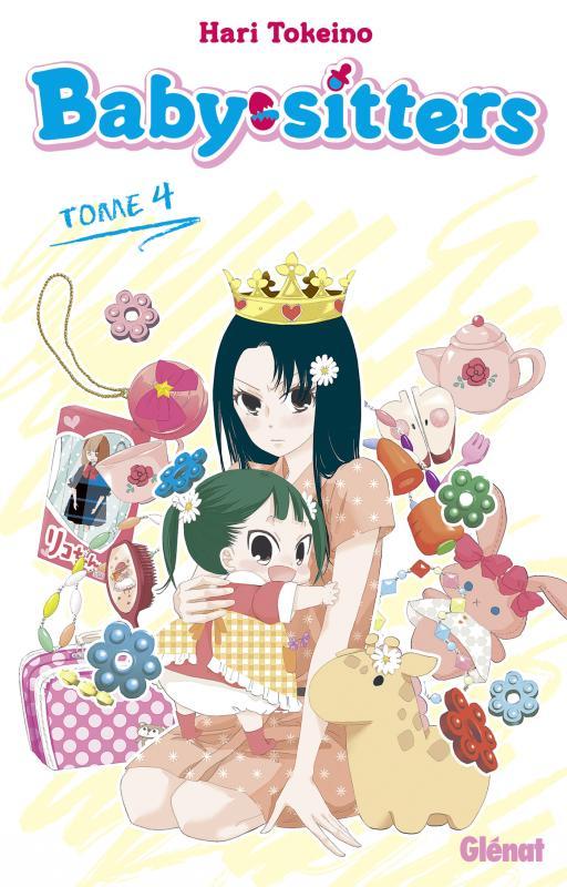 Baby sitters T4, manga chez Glénat de Tokeino