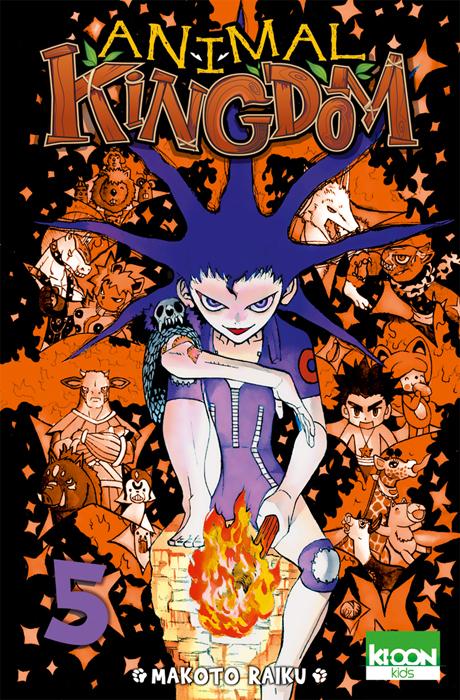 Animal kingdom T5, manga chez Ki-oon de Raiku
