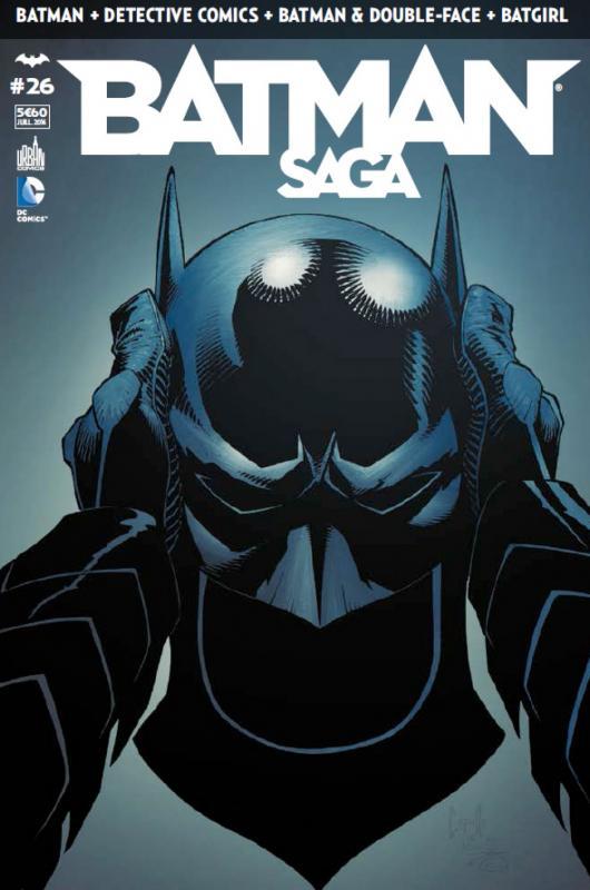 Batman Saga T26, comics chez Urban Comics de Tomasi, Snyder, Layman, Simone, Capullo, Fabok, Gray, Glapion, Albuquerque, Miki, Gleason, Pasarin, Kalisz, Blond, McCaig, FCO Plascencia