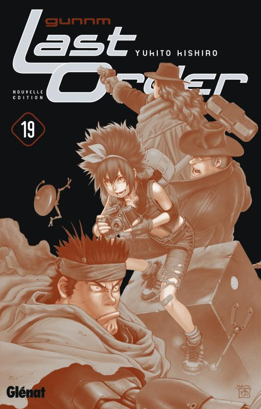 Gunnm Last Order – 1e édition, T19, manga chez Glénat de Kishiro
