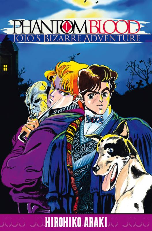 Jojo's Bizarre Adventure - Phantom blood  T1, manga chez Tonkam de Araki