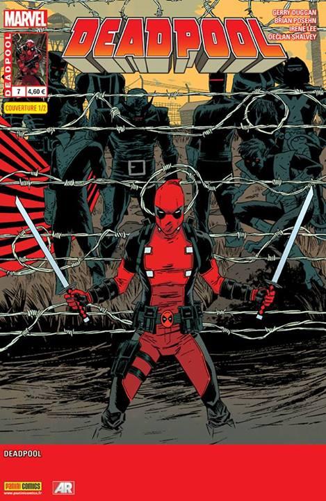 Deadpool (revue) – V 4, T7 : Le bon, la brute et le truand (0), comics chez Panini Comics de Posehn, Duggan, Shalvey, Koblish, Bellaire, Staples