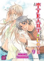 The tyrant who fall in love T9, manga chez Taïfu comics de Takanaga