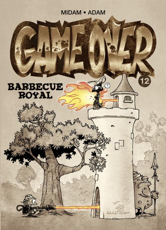 Game Over T12 : Barbecue royal (0), bd chez Glénat de Midam, Adam, BenBK