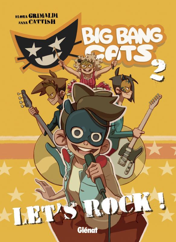 Big Bang Cats T2 : Let's rock ! (0), bd chez Glénat de Grimaldi, Cattish