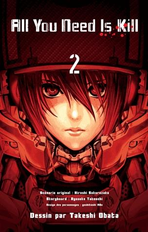 All you need is kill T2, manga chez Kazé manga de Takeuchi, Sakurazaka, Abe, Obata