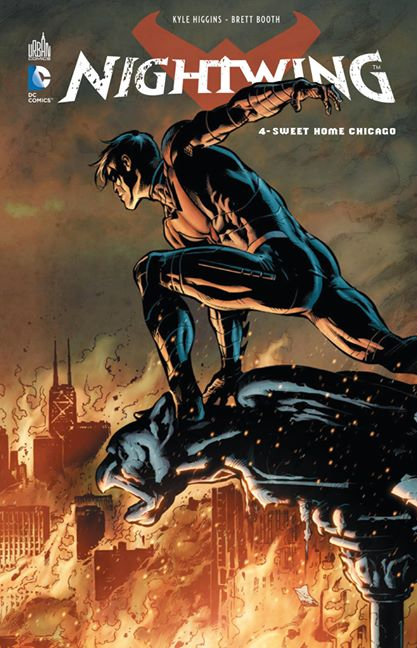 Nightwing T4 : Sweet home Chicago (0), comics chez Urban Comics de Higgins, Booth, Conrad, Dalhouse, Pantazis
