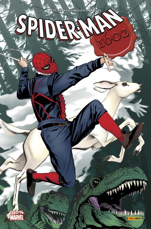 1602 T5 : Spider-Man (0), comics chez Panini Comics de Parker, Rosanas, Charalampidis, Golden
