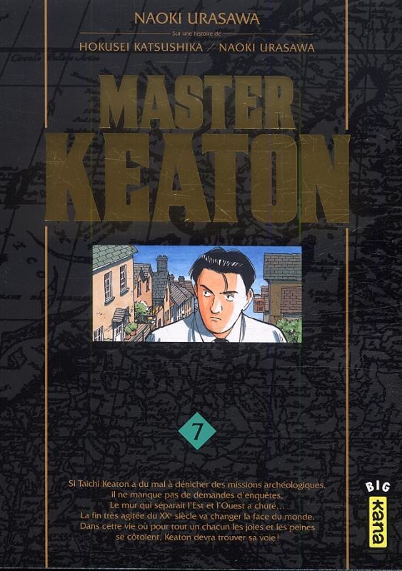 Master Keaton T7, manga chez Kana de Nagasaki, Urasawa, Katsushika